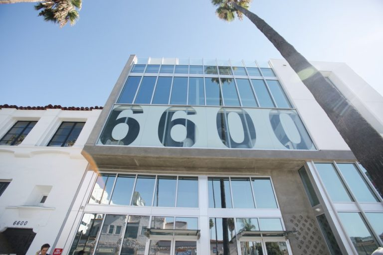 Coworking and Private office lease at 6600 Sunset Blvd.