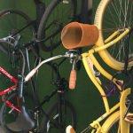 Bike storage.