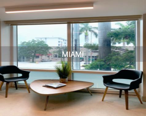 Main lobby of Miami office